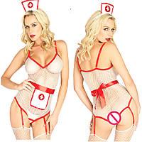 Женское Эротическое белье Костюм медсестры