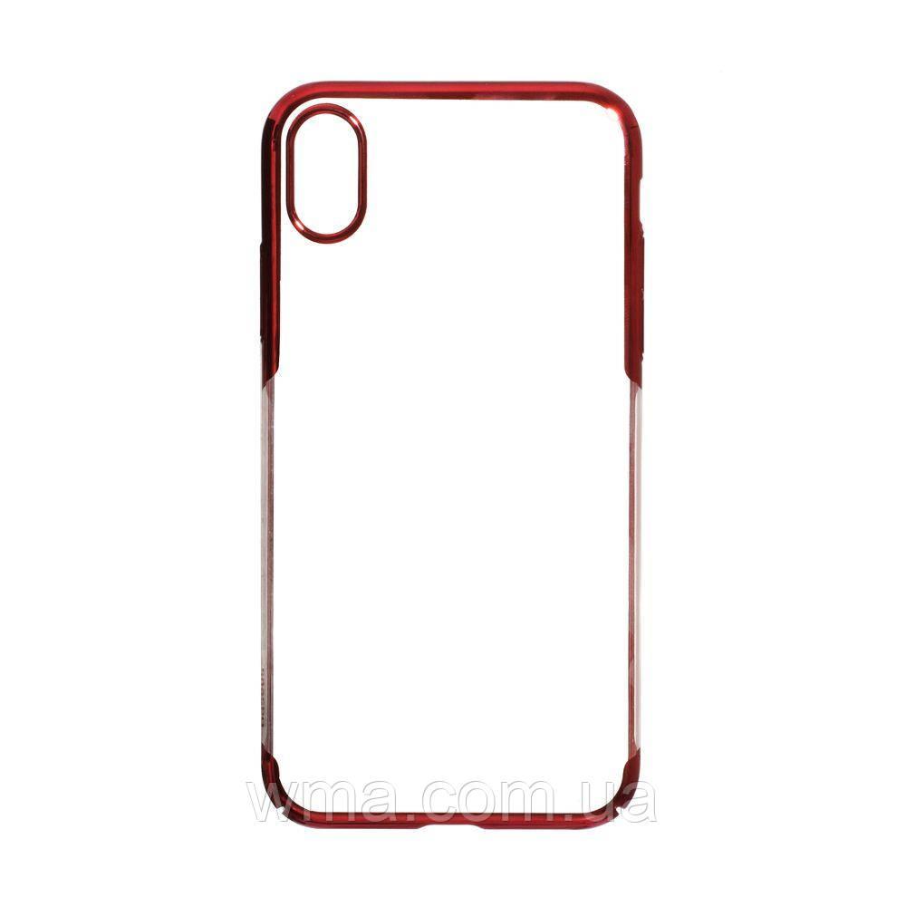 Чехол Baseus Iphone Xs Max WIAPIPH65-DW Цвет Красный, 09