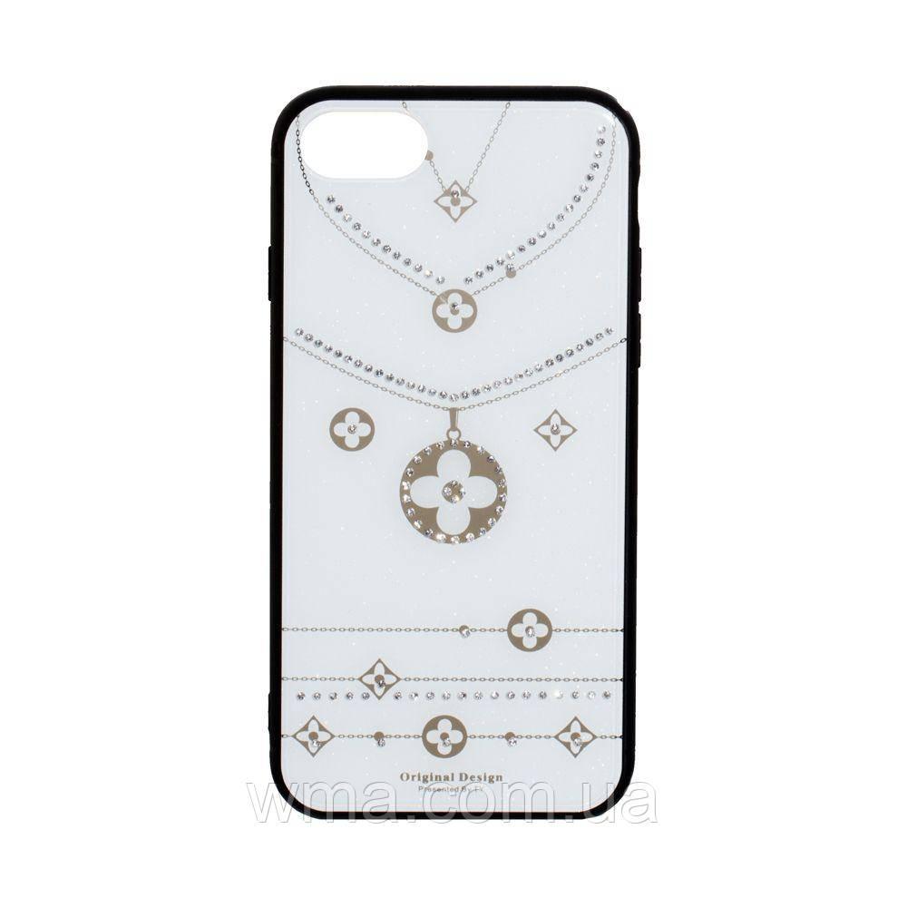 Чехол Tybomb Necklace for Apple Iphone 6G / 7G / 8G Цвет Белый