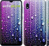 Пластиковый чехол Endorphone на Samsung Galaxy A10 2019 A105F Капли воды 3351m-1671-26985, КОД: 1749499