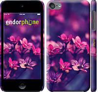 Пластиковый чехол Endorphone на iPod Touch 6 Пурпурные цветы 2719m-387-26985, КОД: 1754329