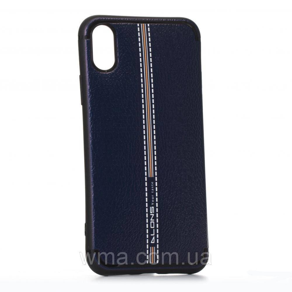 Чехол Alons Lenny Apple Iphone X Цвет Синий