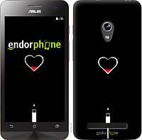 Пластиковый чехол Endorphone на Asus Zenfone 5 Подзарядка сердца 4274c-81-26985, КОД: 1755573