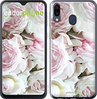 Силиконовый чехол Endorphone на Samsung Galaxy M20 Пионы v2 2706u-1660-26985, КОД: 1756375