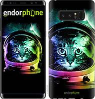 Пластиковый чехол Endorphone на Samsung Galaxy Note 8 Кот-астронавт 4154m-1020-26985, КОД: 1756625