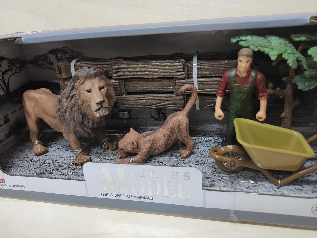 Набор животные африки Series Model маленькая Q 9899-C2 львы