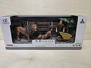 Набор животные африки Series Model маленькая Q 9899-C2 львы, фото 2