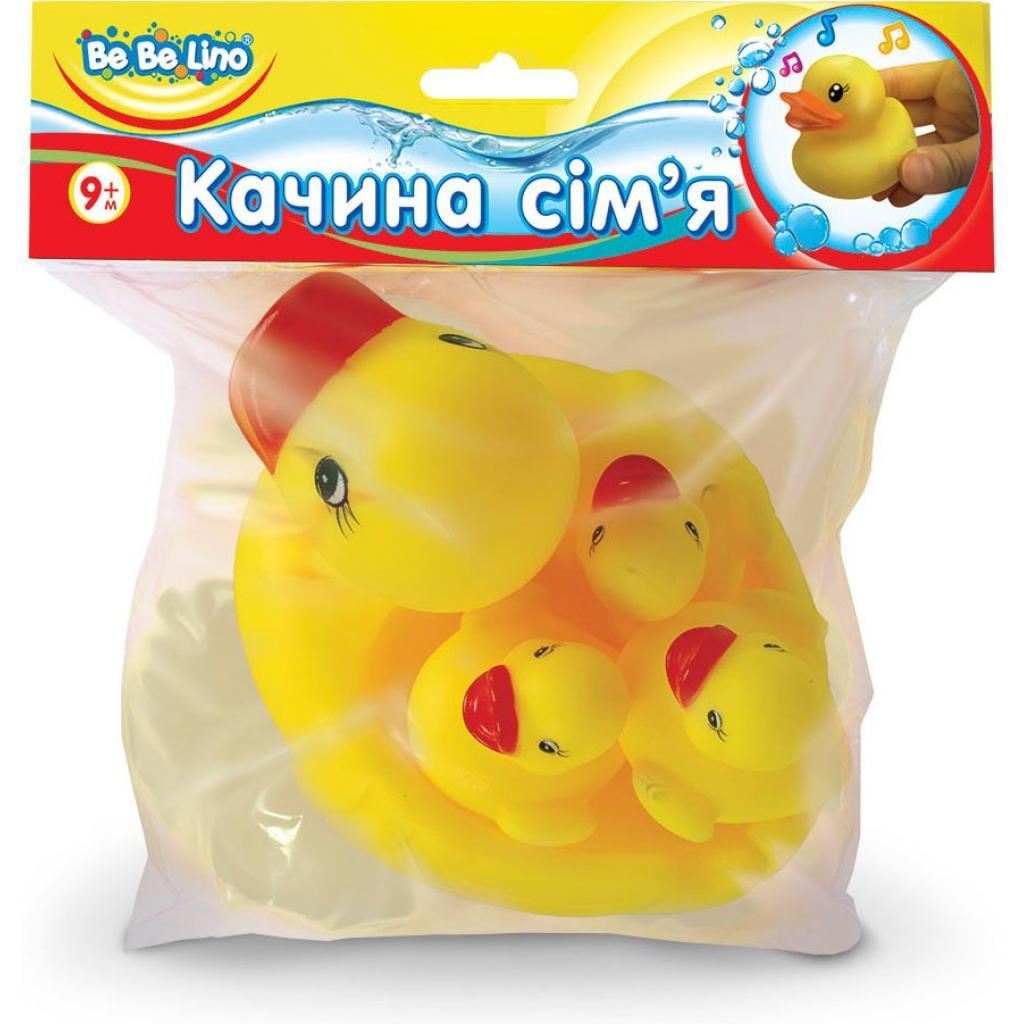 Игрушка для ванной BeBeLino Утиная семья (57061)
