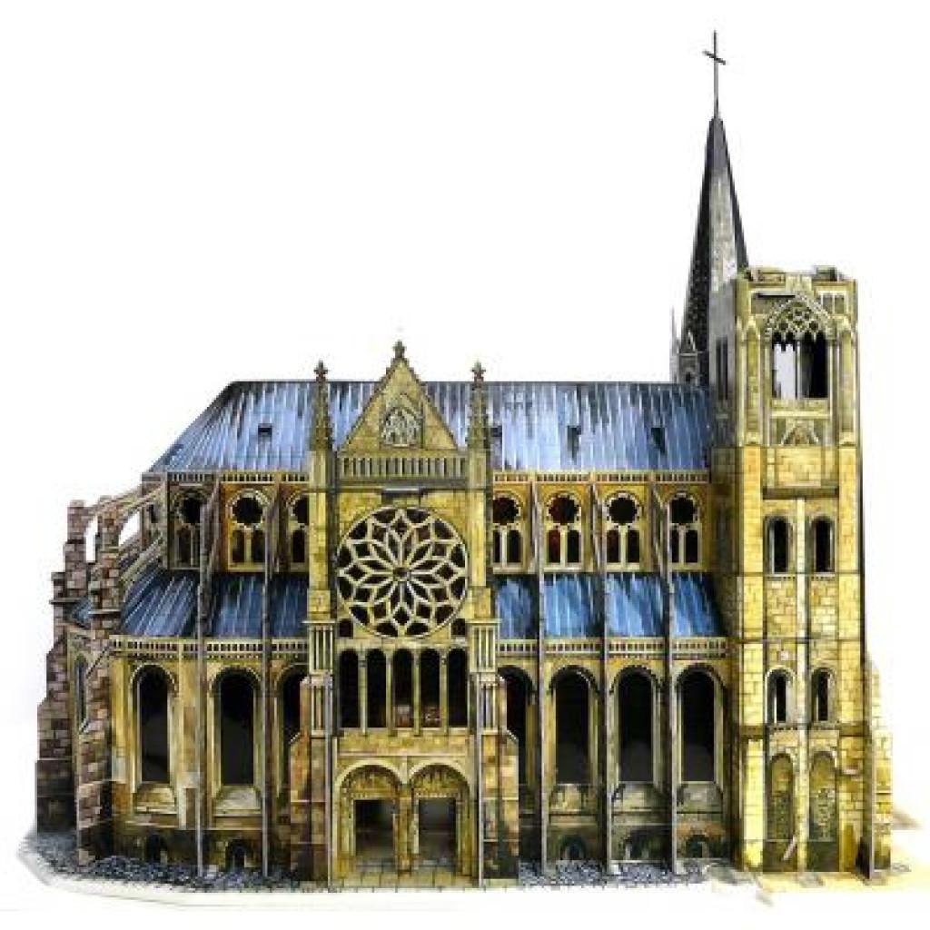 Сборная модель Умная бумага Готический собор серии Средневековый город (255)