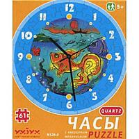 Пазл Умная бумага Часы Золотая рыбка (126-03)