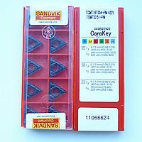 Пластина твердосплавная сменная TCMT 16T304-PM 4225 SANDVIK
