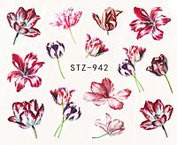 Слайдер дизайн для ногтей водный STZ-942