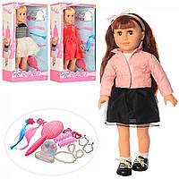 """Лялька """"Defa"""" 46см,  м'яконабивна, 3 види 5508"""