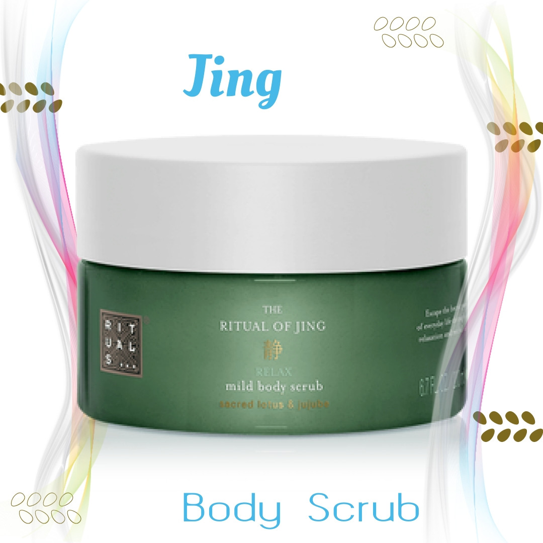 "Rituals. Скраб для тіла ""Jing"". Ritual of Jing Body Scrub . 200 мл. Виробництво-Нідерланди."