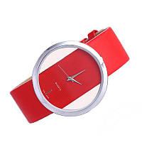 Женские наручные часы QUARTZ Красные 552701120063, КОД: 1706849