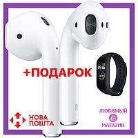 Беспроводные наушники i12 + фитнес браслет Mi Band 4. Bluetooth наушники. Беспроводная гарнитура