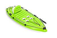 Надувная одноместная лодка-каяк Bestway 65097, 270*100 см
