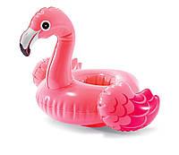Плавающий подстаканник Intex 57500 «Фламинго», 33*25 см, фото 1