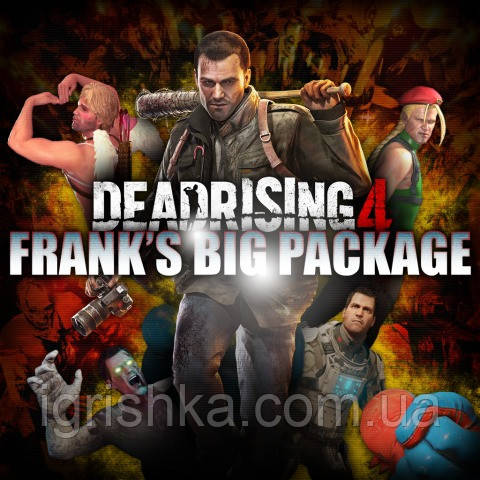 Dead Rising 4: Frank's Big Package Ps4 (Цифровой аккаунт для PlayStation 4) П3