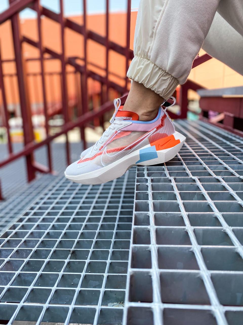 """Стильные женские кроссовки Nike Vista Lite SE"""" White/Red/Blue / Найк Виста Лайт"""
