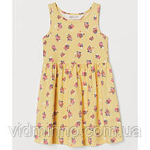Дитяча сукня Квіти H&M на зріст 134-140 см