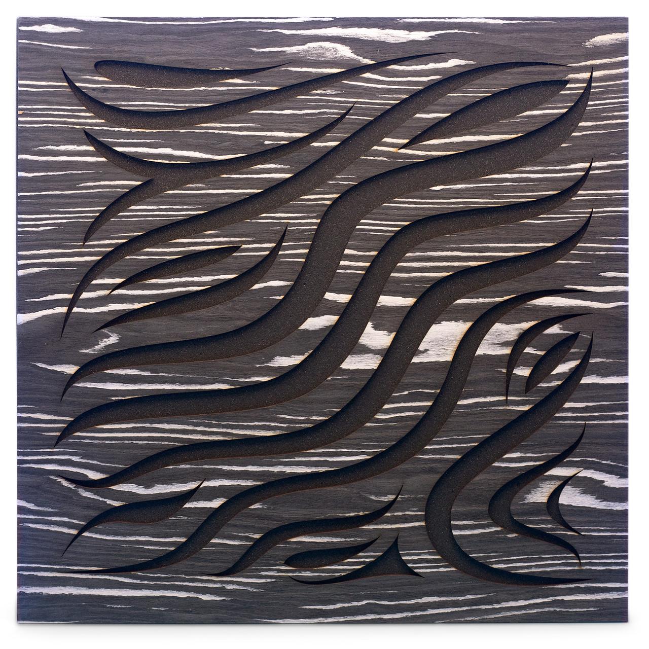 Акустическая панель Ecosound Chimera Ebony&Ivory 50x50см 73мм цвет черно-белый