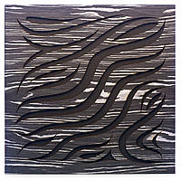 Акустическая панель Ecosound Chimera Ebony&Ivory 50x50см 73мм цвет черно-белый, фото 1