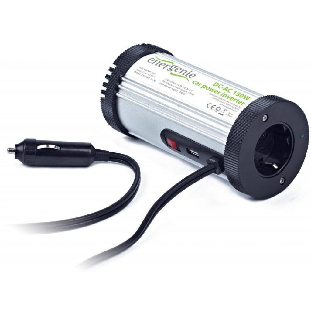 Інвертор автомобільний 12V/220V 150 Вт EnerGenie (EG-PWC-031)