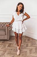 Платье женское летнее чёрное, белое, красное, мята, горчица, 42-44, 44-46