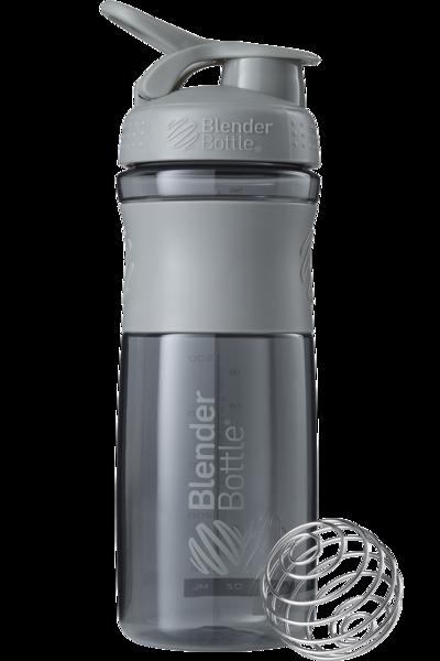 Спортивная бутылка-шейкер BlenderBottle SportMixer 820 ml Grey