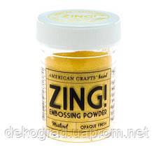Пудра для горячего эмбоссинга Mustard Zing!,
