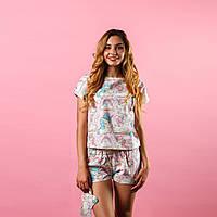 """Пижама """"Розовые единорожки"""" Одежда для сна и дома женская"""