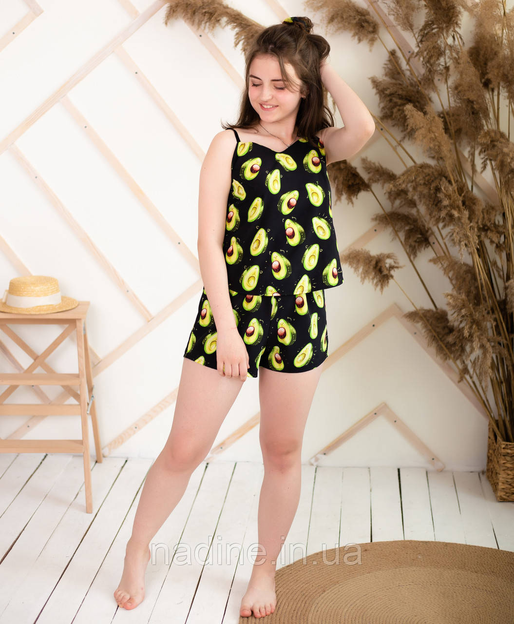 Піжама підліткова авокадо Eirena Nadine (731-70) піжама 170/44