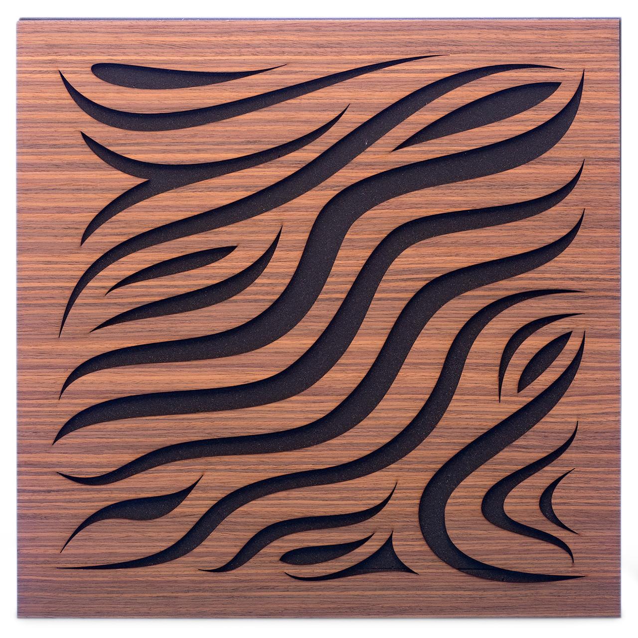 Акустическая панель Ecosound Chimera Rosewood 50x50см 73мм Цвет коричневый