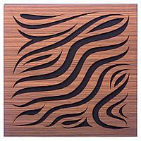 Акустическая панель Ecosound Chimera Rosewood 50x50см 73мм Цвет коричневый, фото 1