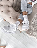 "Женские кроссовки Nike Air Force ""All White"", фото 9"
