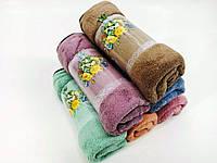 """Полотенца для кухни """"Цветы"""" 30*70 см."""""""