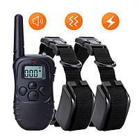 Электронный ошейник для дрессировки собак Petainer PET998DB-2, для 2-х собак