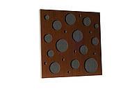 Акустическая панель Ecosound EcoBubble Brown 50х50см 33мм цвет коричневый, фото 1