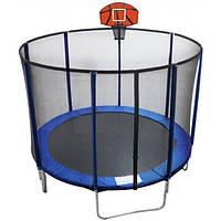 EnergyFIT Батут EnergyFIT GB10103-10FT c баскетбольным щитом
