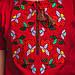 Вишита футболка Moderika Квіткова червоного кольору, фото 4