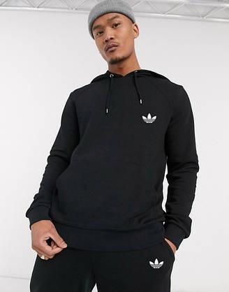 Спортивный мужской костюм Adidas (Адидас) черный