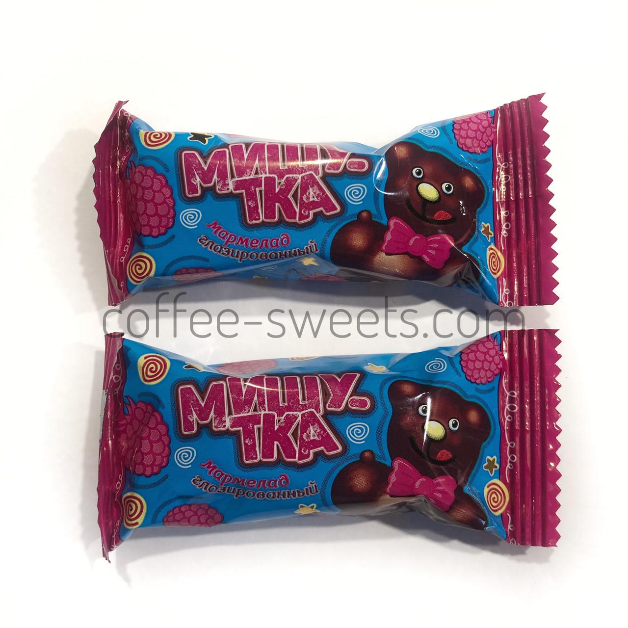 "Конфеты ""Мишутка"" мармелад в шоколаде Коммунарка"