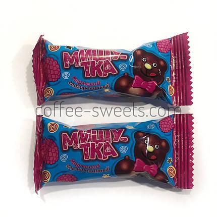 """Конфеты """"Мишутка"""" мармелад в шоколаде Коммунарка, фото 2"""