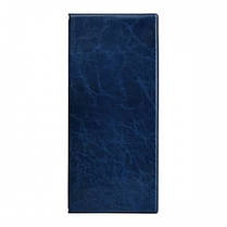 Визитница AXENT 2502-02 на 80 визиток Xepter 260 * 114мм Синяя (1/50)