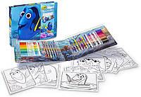 Арт кейс Crayola Finding Dorу Art Kit, Art Case, 40 Pieces  Набір для малювання (04-2014) (B01BBZK0O8)