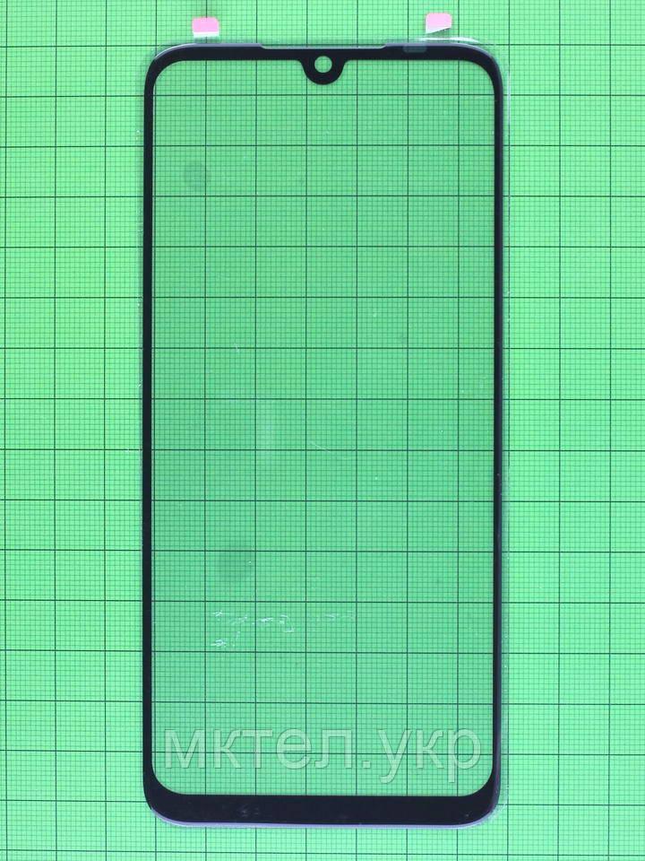 Стекло сенсора Xiaomi Redmi Note 7 черный copyAAA