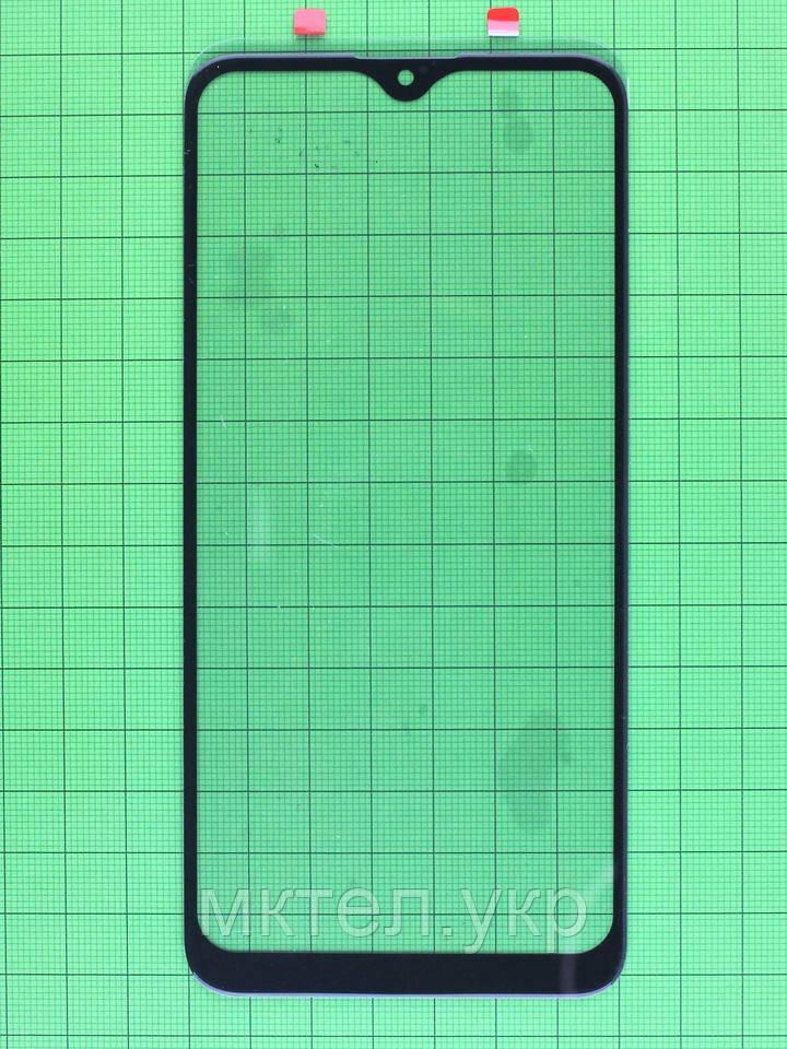 Стекло сенсора Xiaomi Redmi Note 8 черный copyAAA