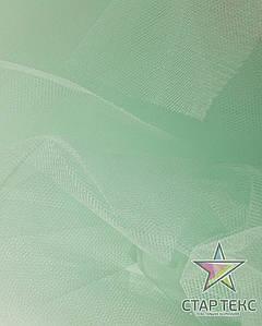Фатин средней жесткости Crystal Tul Светлая Мята