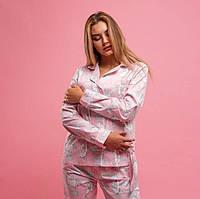 """Пижама """"Единорожки на розовом""""  Пижамы для сна. Одежда для сна и дома женская"""